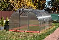 Арочная Теплица Основа Усиленная Nk Plast (300х400х200 см) Сотовый Поликарбонат 4 мм