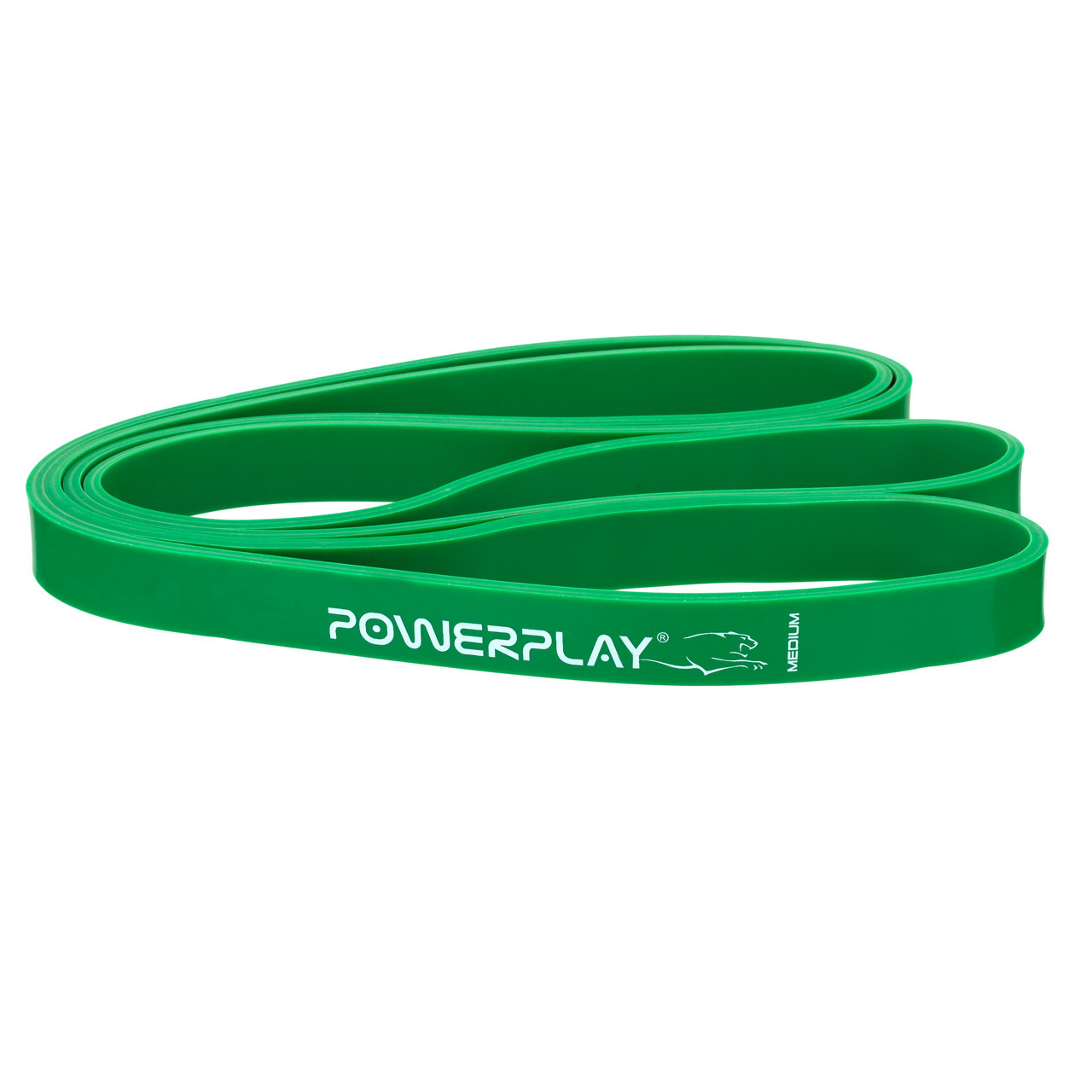 Резина для тренировок PowerPlay 4115 Medium Зеленая