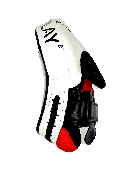 Лапы боксерские PowerPlay 3042 Черно-Белые PU [пара], фото 4