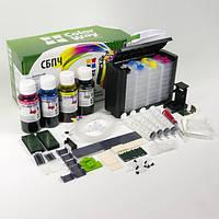 СНПЧ ColorWay для HP 121/122/650 demper v2  +чернила 4х100гр H650CN-4.1NC