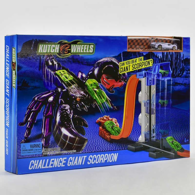 """Автотрек S 8828 (24) """"Скорпион"""" 2 машинки, в коробке"""