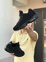 Кроссовки мужские черные Nike 95, мужские осенние кроссовки [44 размер]