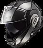 Мотошлем LS2 FF399 VALIANT JEANS (титановый)
