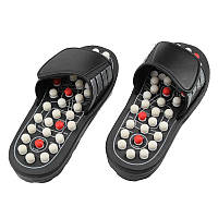 🔝 Рефлекторные массажные тапочки Massage Slipper - размер M | 🎁%🚚