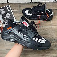 Кроссовки мужские Nike Huarache x OFF-White (реплика) 00029 ⏩ [ 40.41.42.43.44 ], фото 1