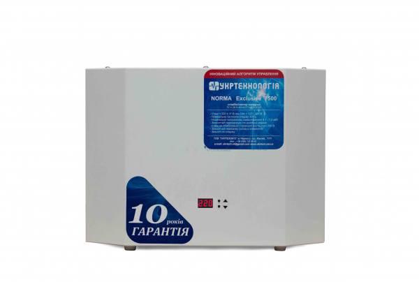 Однофазный стабилизатор Укртехнология HCH-7500 Norma Exclusive