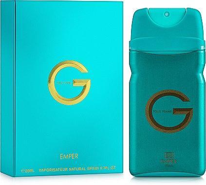 Женская парфюмированная вода G Pour Femme 20ml. Emper (100% ORIGINAL)