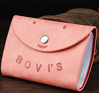 Женская визитница кредитница Card Holder Bovis T609-5