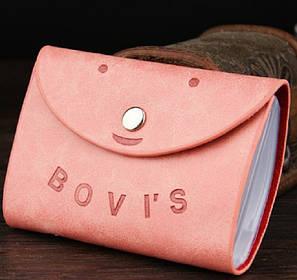 Жіноча візитниця кредитница Card Holder Bovis T609-5