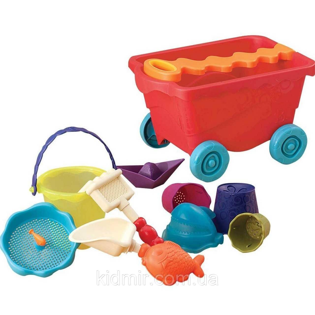Набор для игры с песком в тележке Манго Battat BX1594Z