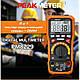 PM8229 Защищённый мультиметр PEAKMETER (освещенность,уровень аккустического шума , ёмкость, температура), фото 9