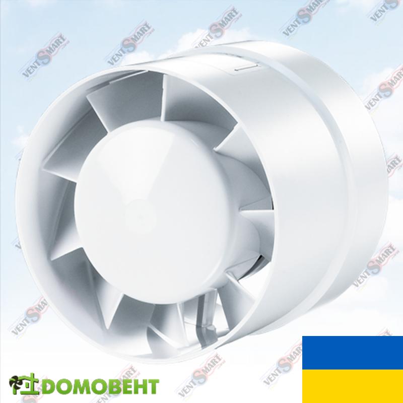 Канальный осевой вентилятор Домовент 125 ВКО