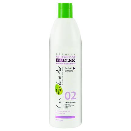 Шампунь La Fabelo Premium 02 Anti Hair Loss против выпадения волос 500мл, фото 2