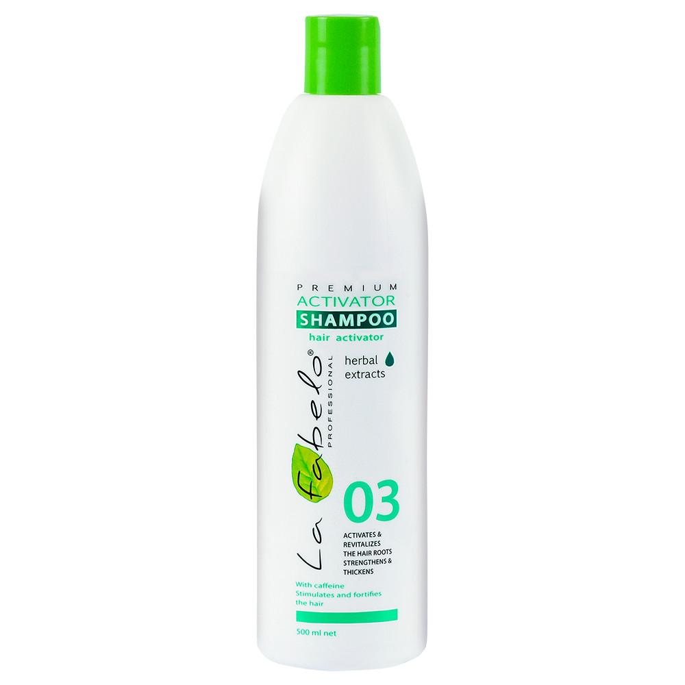 Шампунь La Fabelo Premium 03 Activator активатор роста волос 500мл