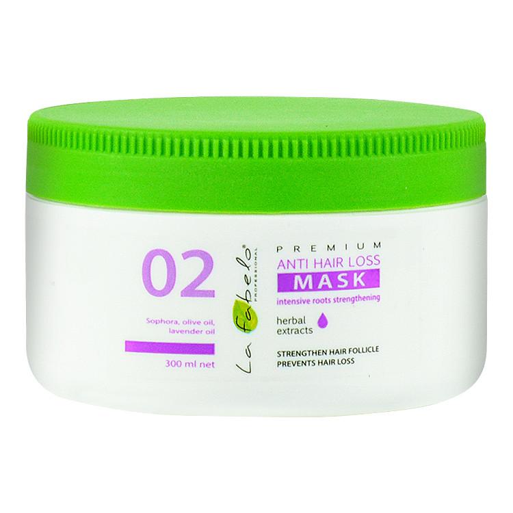 Маска La Fabelo Premium 02 Anti Hair Loss против выпадения волос 300мл