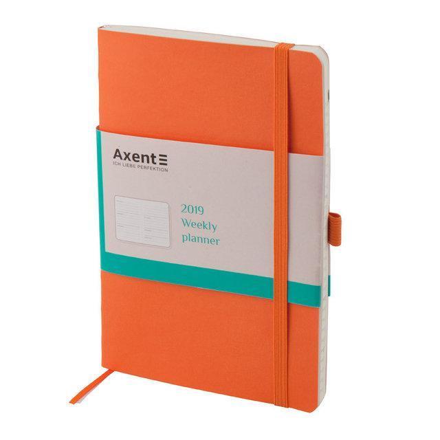 Еженедельник 2019 Axent Flex 8506-12-A, А5-, 96 листов, оранжевый