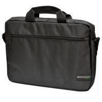 """Сумка для ноутбука 15.6"""" Grand-X SB-120 Black 2 ручки, внешний карман для аксессуаров"""