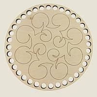 Круглое донышко для вязанных корзин Shasheltoys (100132.12) 12 см