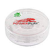 Капа боксерская PowerPlay 3306 JR Прозрачная / MINT, фото 2