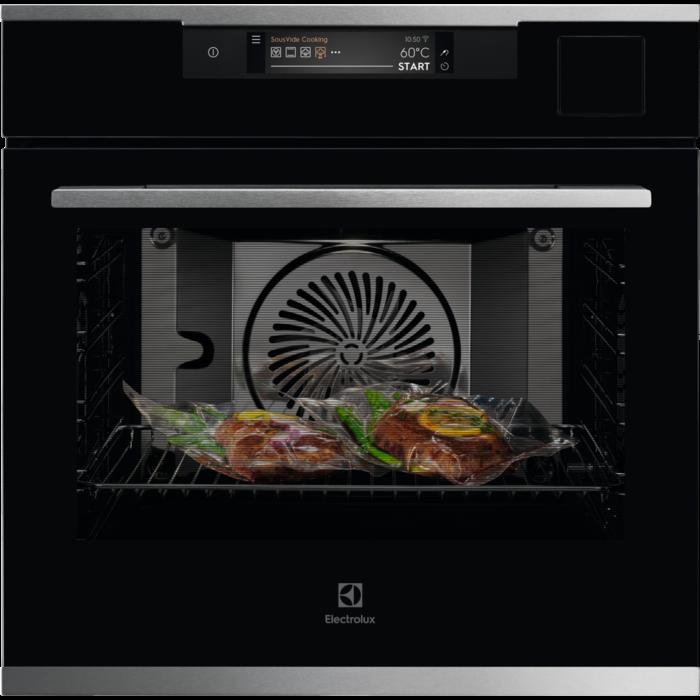 Встраиваемая духовка с функцией паровой печи и Wi-Fi Electrolux KOAAS31WX