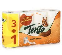 Паперові рушнички Tento  4 рулони /упаковка(Польша)