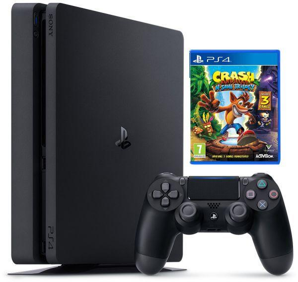PlayStation 4 Slim 1TB+ Crash Bandicoot