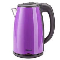 Електричний чайник-термос фіолетовий MAGIO MG-513N якісний