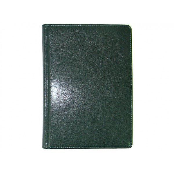 Ежедневник датированный 2019 BRISK OFFICE SARIF Стандарт А5 (14,2х20,3) зеленый кремовая бумага