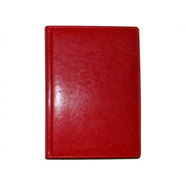 Ежедневник датированный 2019 BRISK OFFICE SARIF Стандарт А5 (14,2х20,3) красный кремовая бумага