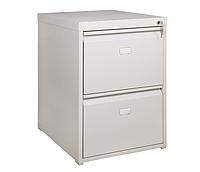 Шкаф файловый ШФ-2А, офисный металличекий шкаф для файлов формата А4 Н710х495х602 мм, фото 1