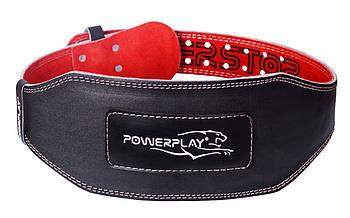 Пояс для тяжелой атлетики PowerPlay 5053 Черно-Красный XL