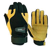 Перчатки для Кроссфит Powerplay 2075 Черно-Коричневые XL, фото 1
