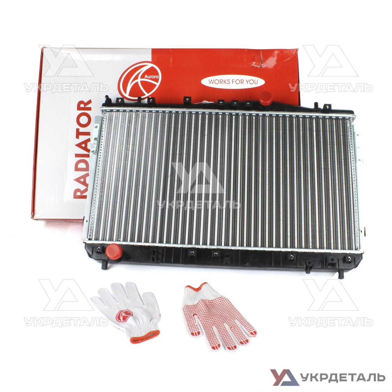 Радиатор охлаждения Шевроле Лачетти 1.6, 1.8 16V MT (до 2008 г) / Chevrolet Lacetti | (AURORA) Польша