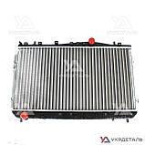 Радиатор охлаждения Шевроле Лачетти 1.6, 1.8 16V MT (до 2008 г) / Chevrolet Lacetti | (AURORA) Польша, фото 3
