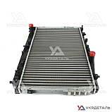 Радиатор охлаждения Шевроле Лачетти 1.6, 1.8 16V MT (до 2008 г) / Chevrolet Lacetti | (AURORA) Польша, фото 6