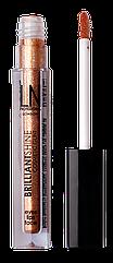 Глиттер для лица LN Professional BRILLIANT SHINE COSMETIC GLINT универсальный № 01 Драгоценный Янтарь