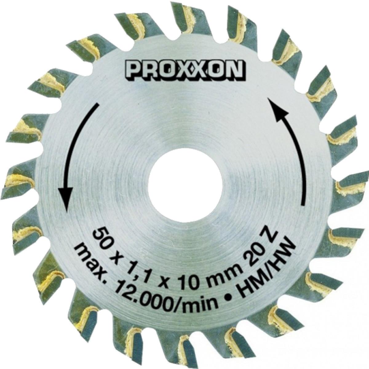 Диск пильный Proxxon HW 50x10x20T (28017)