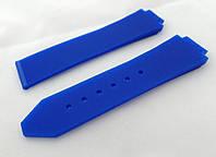 Ремешок к женским часам HUBLOT синий, фото 1