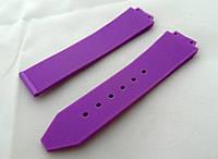 Ремешок к женским часам HUBLOT фиолетовый, фото 1