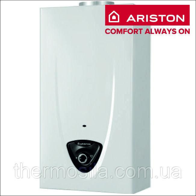 Газовий проточний водонагрівач (колонка) з відкритою камерою Ariston FAST EVO ONT B 11 NG RU