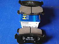 """Колодки тормозные задние LACETTI  дисковые """"HI-Q"""" SP1160/96405131 (шт.)"""