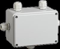 Коробка КМ41331 распаячная для о/п 150х110х85 мм IP55 (RAL7035, гермовводы PG11 5 шт)