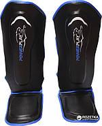 Защита голени и стопы PowerPlay 3052 Черно-Синий S / M / L / XL, фото 2