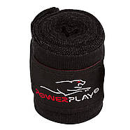 Бинты для бокса PowerPlay 3046 Черные (3м), фото 3