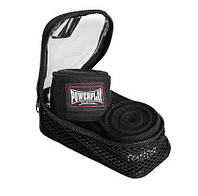 Бинты для бокса PowerPlay 3046 Черные (2.5м), фото 1