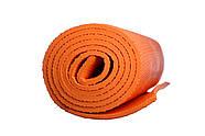 Коврик для фитнеса и йоги PowerPlay 4011 (173 * 61 * 0.8) Оранжевый, фото 3