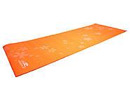 Коврик для фитнеса и йоги PowerPlay 4011 (173 * 61 * 0.8) Оранжевый, фото 5