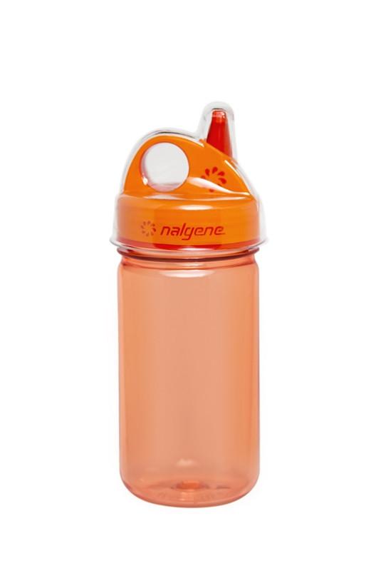 Бутылка для воды детская Nalgene Grip-n-Gulp Оранжевая 350 мл.