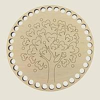 Круглое донышко для вязанных корзин Shasheltoys (100143.15) 15 см