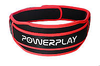 Пояс для тяжелой атлетики PowerPlay 5545 Черно-Красный (Неопрен) L, фото 1